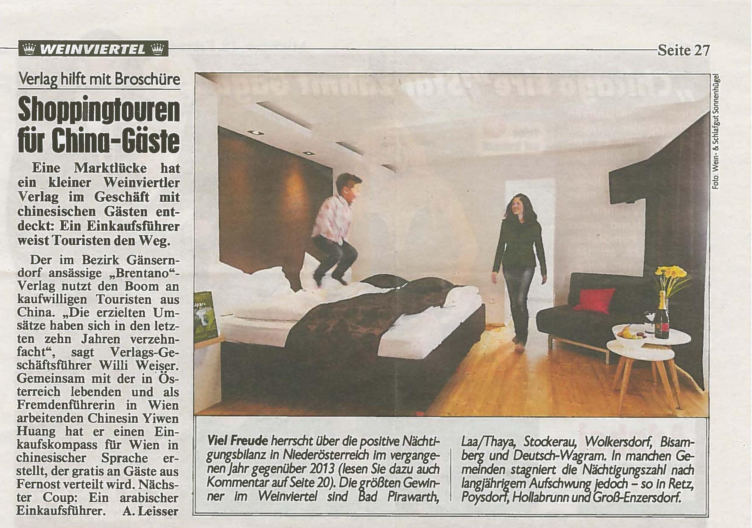 Kronen Zeitung (Ausgabe Niederösterreich), KW 8/2015